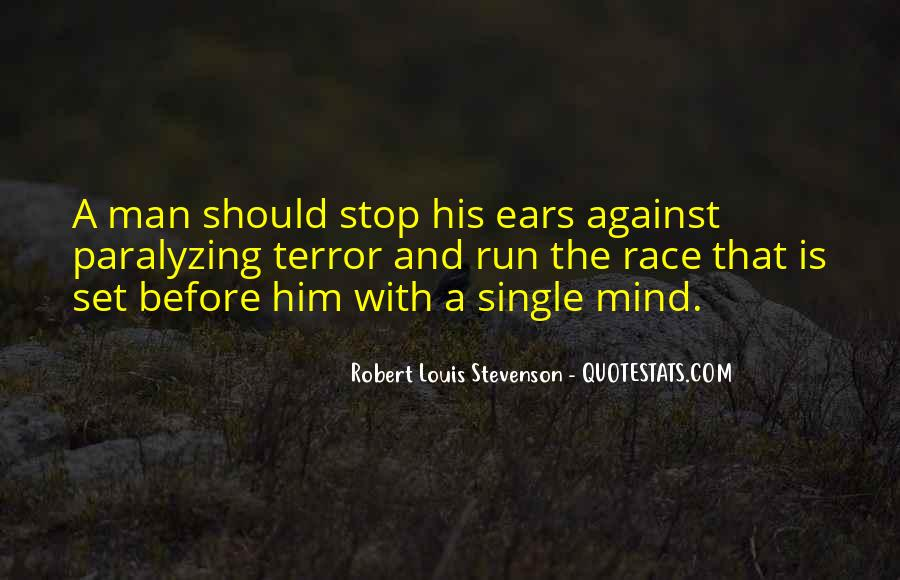 Mind Is Running Quotes #815224