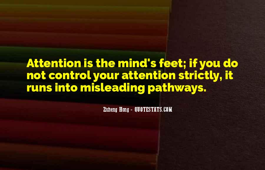 Mind Is Running Quotes #897212