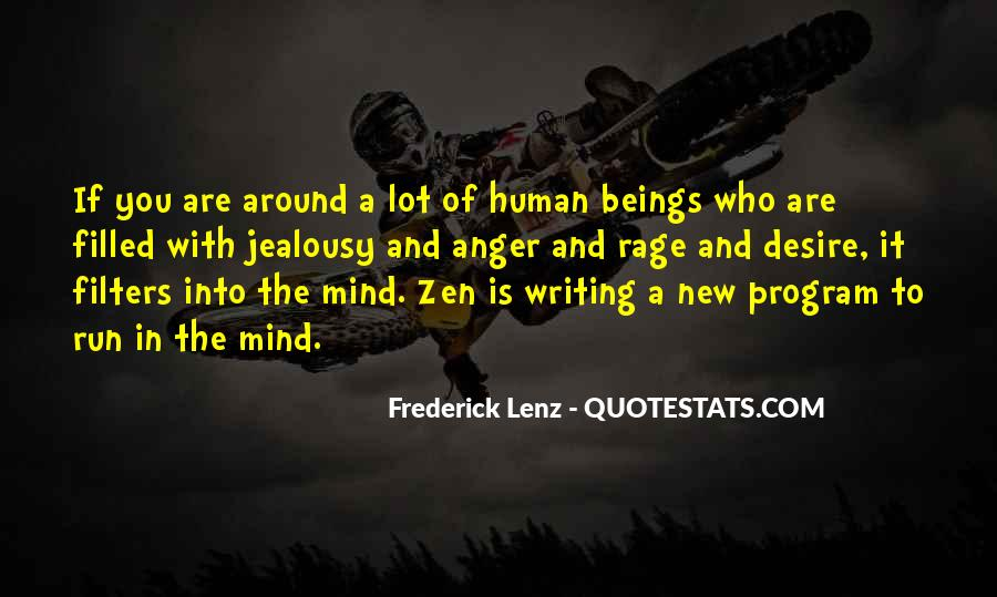 Mind Is Running Quotes #961782