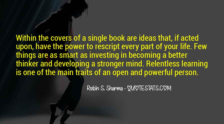 Mind Power Book Quotes #1562316