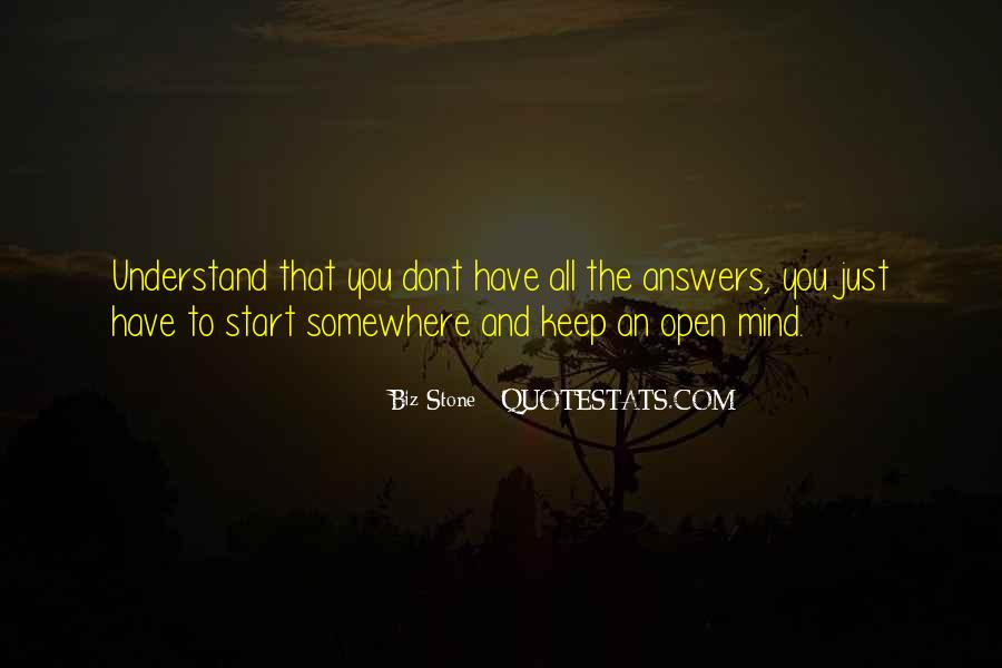 Mind Your Own Biz Quotes #278803