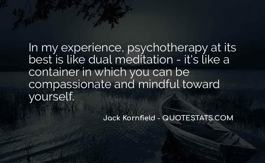 Mindful Meditation Quotes #1230914