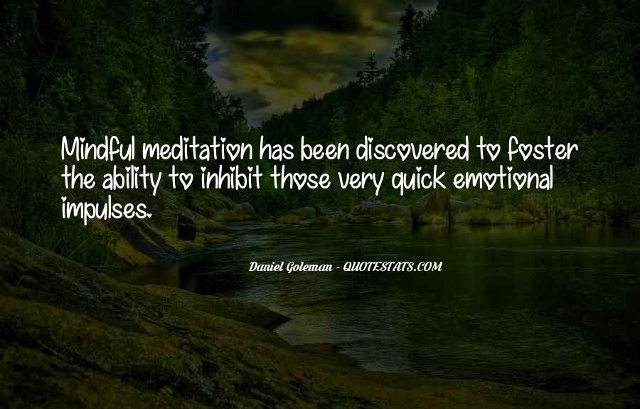 Mindful Meditation Quotes #1746910