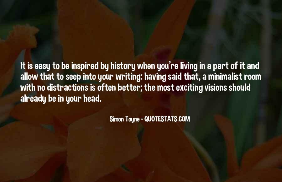 Minimalist Living Quotes #1597937