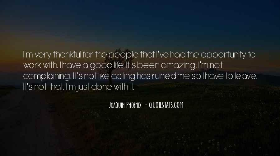 Quotes About Complaining People #1058316