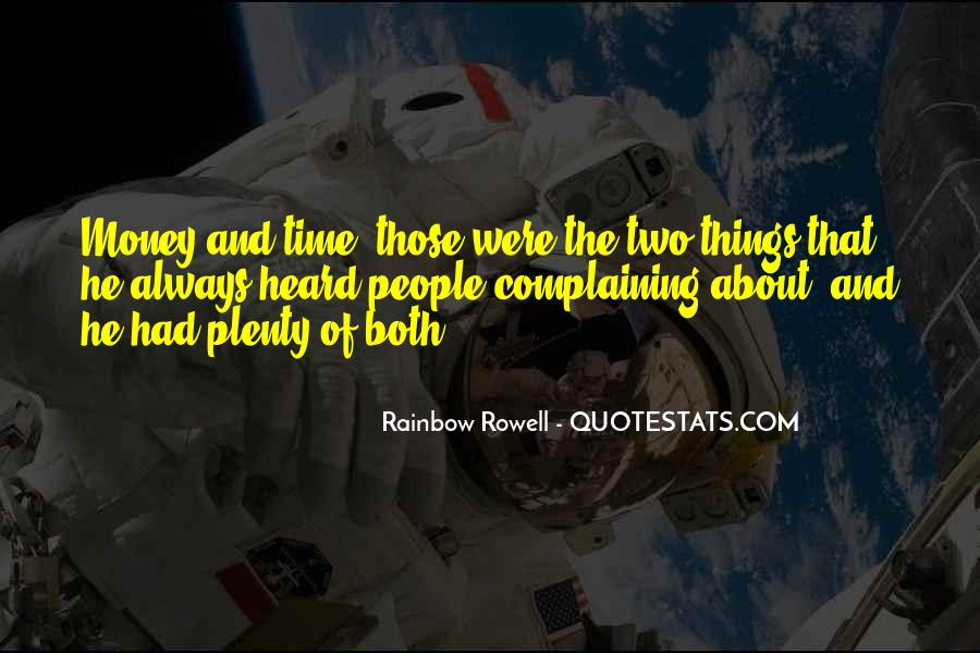 Quotes About Complaining People #1169585