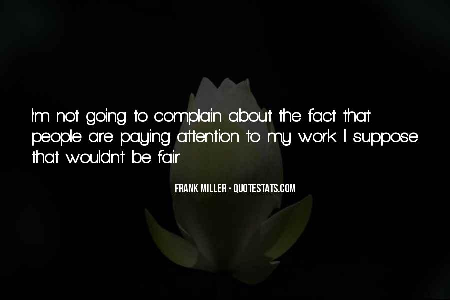 Quotes About Complaining People #118964