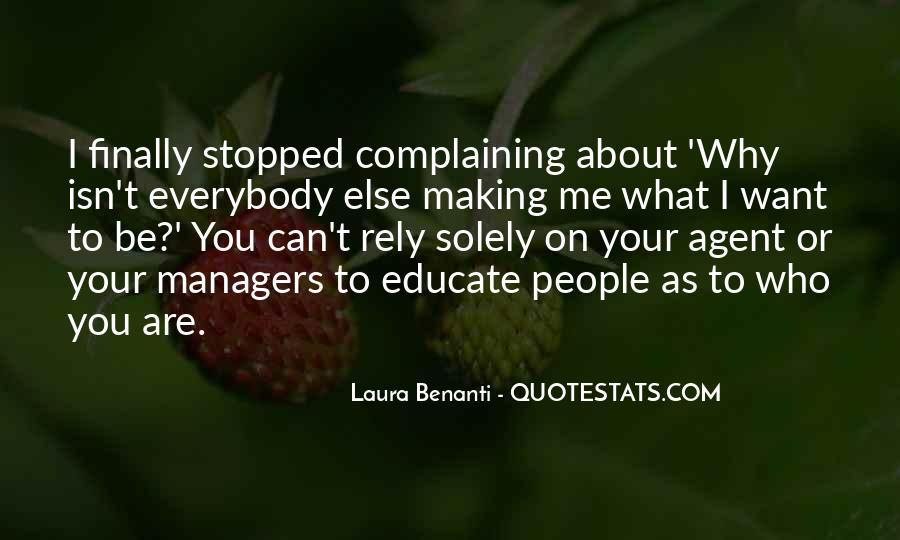 Quotes About Complaining People #119252