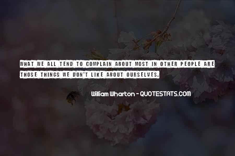 Quotes About Complaining People #1238598