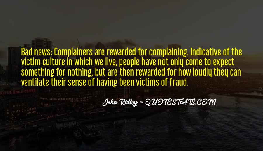 Quotes About Complaining People #1263251