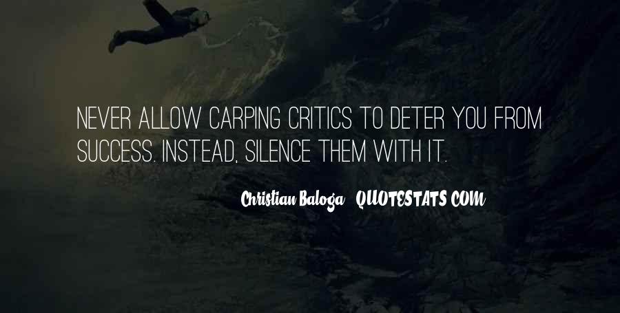 Quotes About Complaining People #1681860