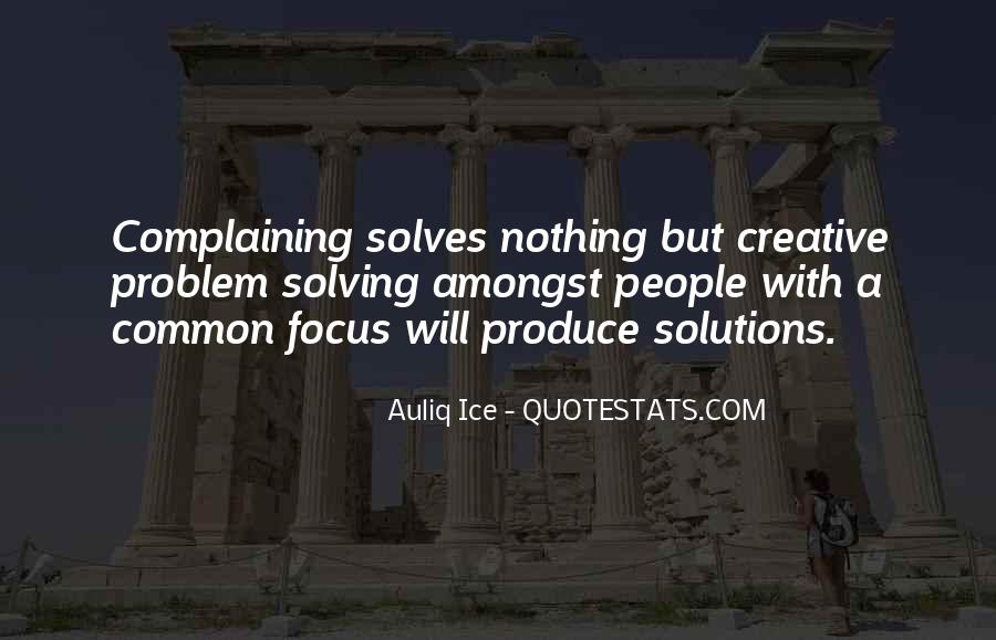 Quotes About Complaining People #195132
