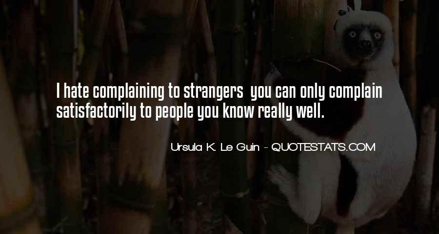 Quotes About Complaining People #250864