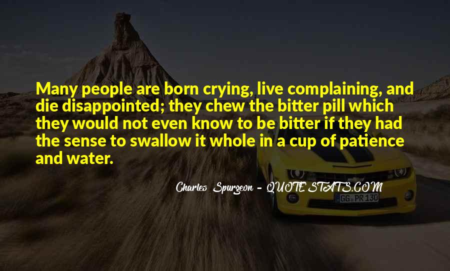 Quotes About Complaining People #447617