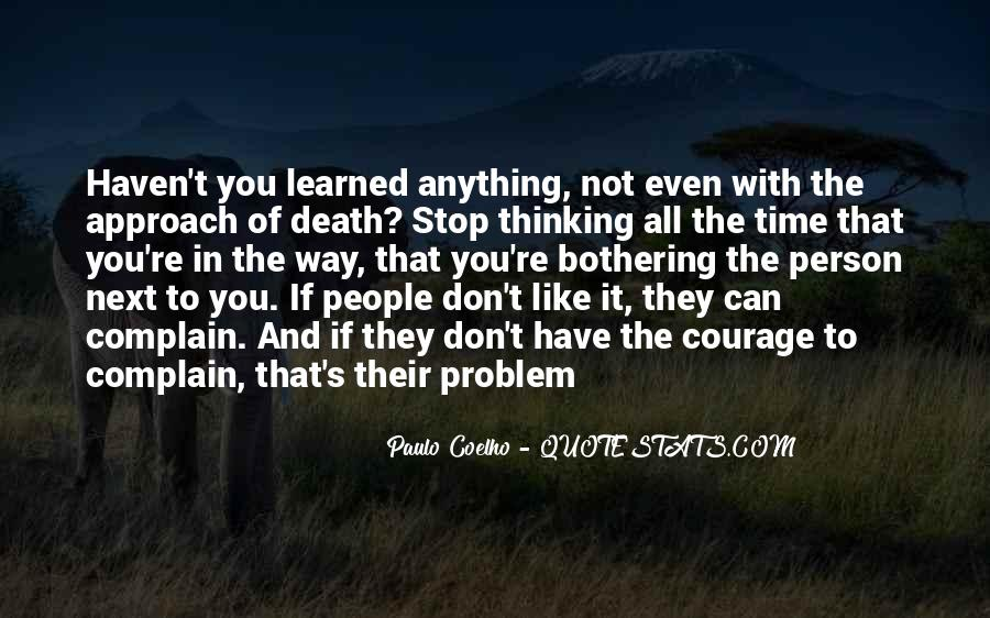 Quotes About Complaining People #595832