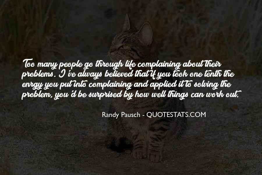 Quotes About Complaining People #671306