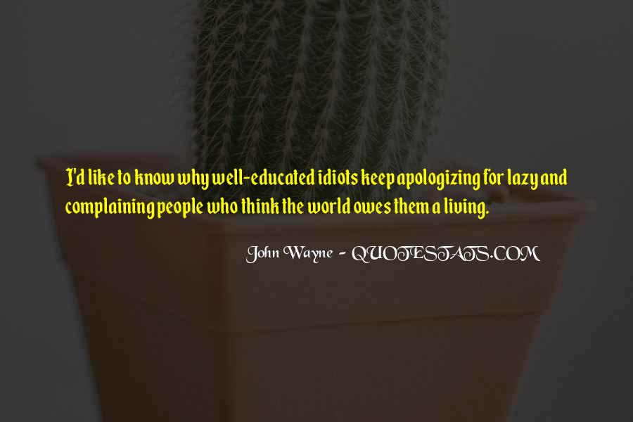 Quotes About Complaining People #835817