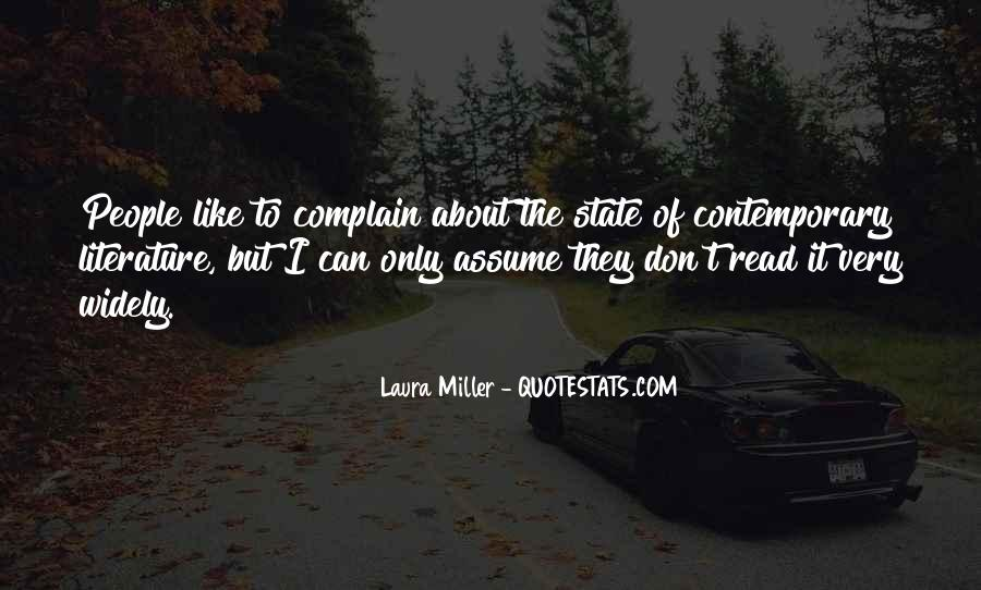 Quotes About Complaining People #965538