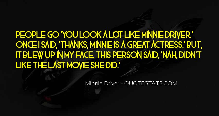 Minnie Me Quotes #530655