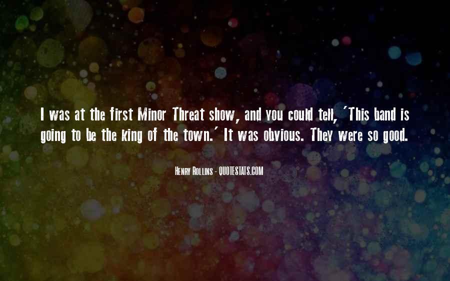 Minor Threat Quotes #421014
