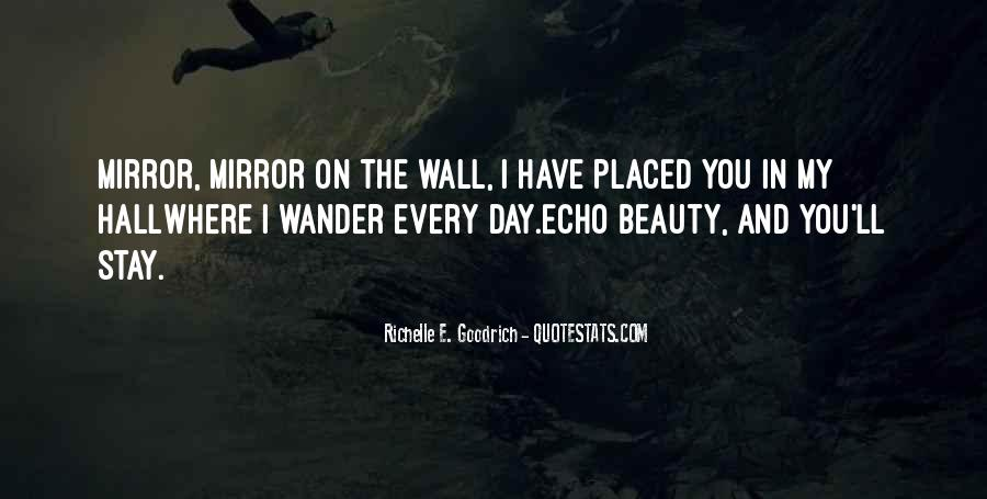 Mirror On The Wall Quotes #1603498