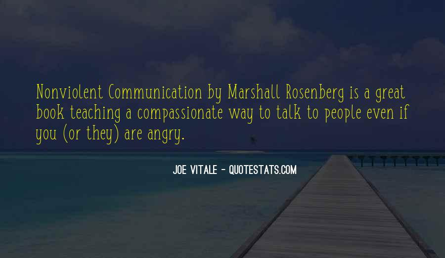 Quotes About Compassionate Communication #1489376