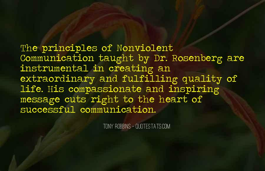 Quotes About Compassionate Communication #1631214