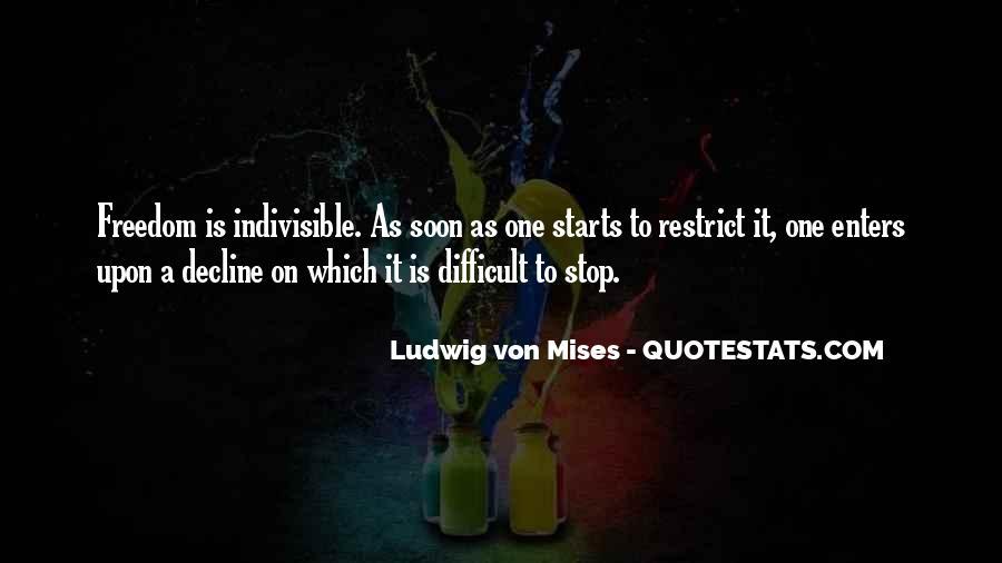 Mises Quotes #44271