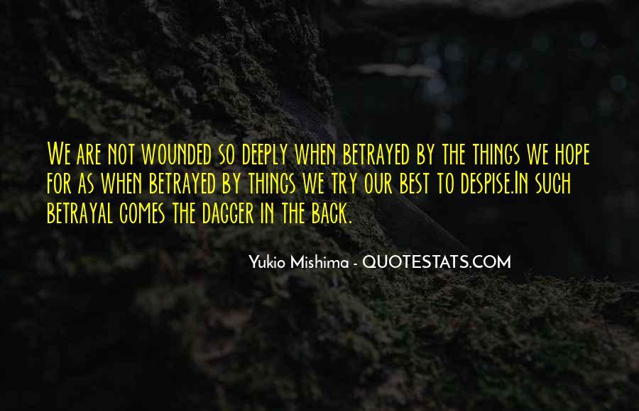 Mishima Love Quotes #1260561