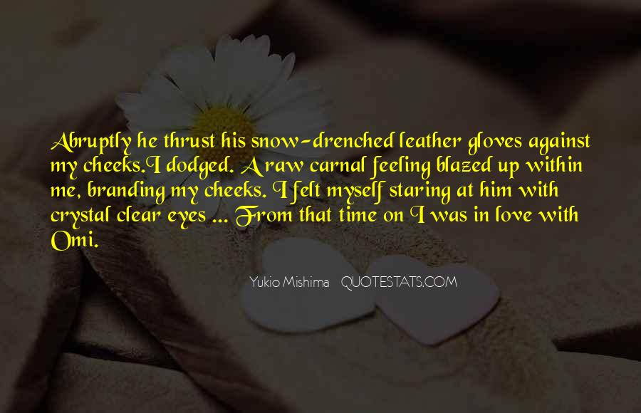 Mishima Love Quotes #654927