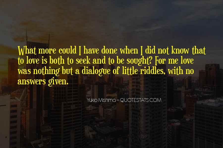 Mishima Love Quotes #68009
