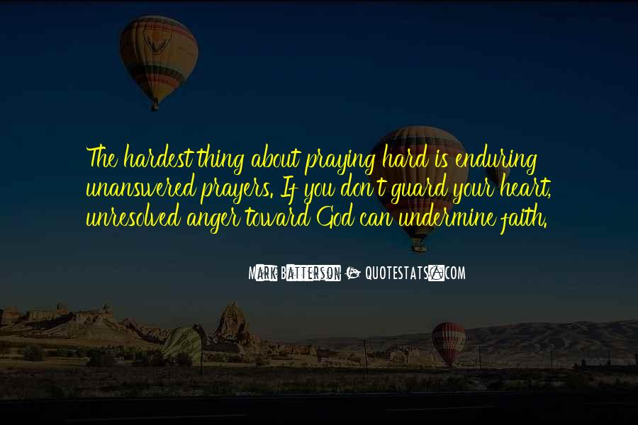 Quotes About Unresolved Anger #1293209