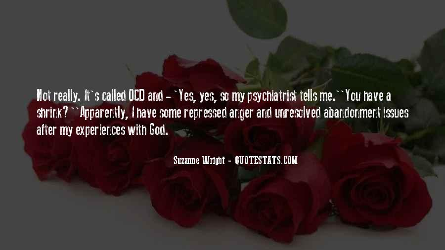 Quotes About Unresolved Anger #533182