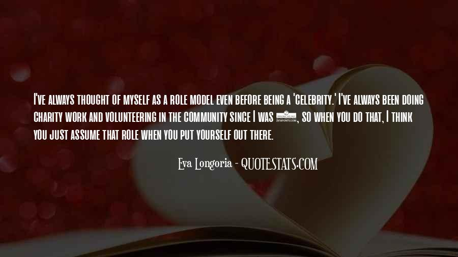Quotes About Community Volunteering #1875807