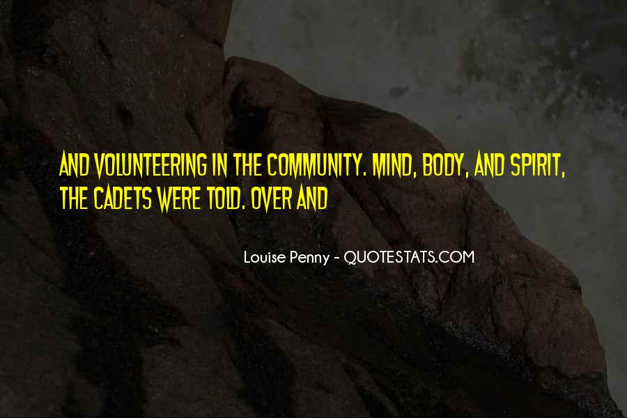 Quotes About Community Volunteering #238164
