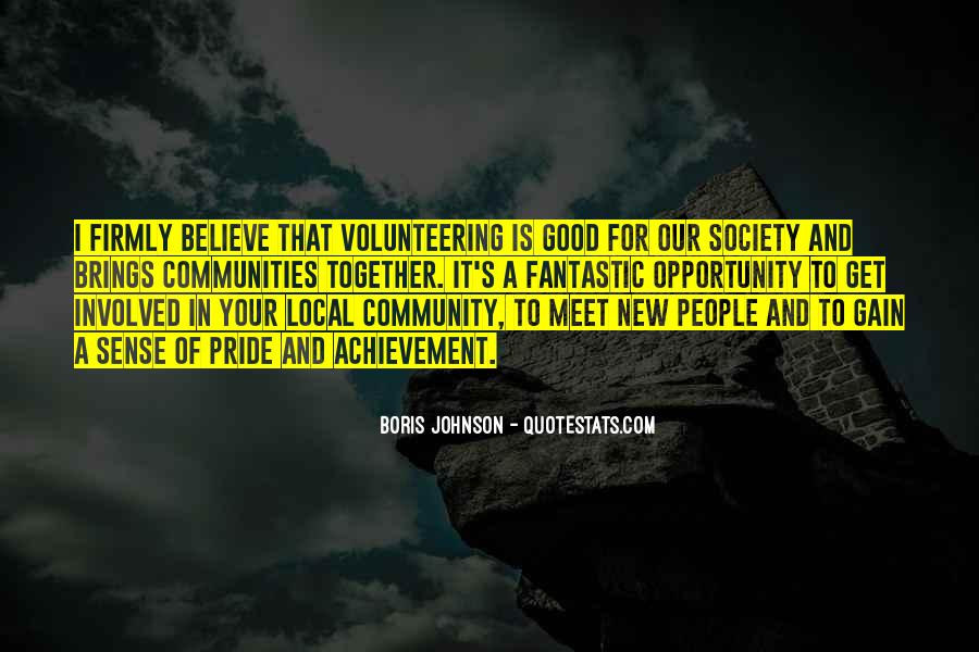 Quotes About Community Volunteering #966938