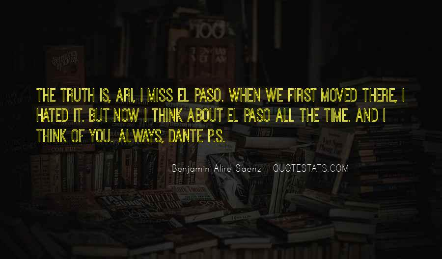 Miss Me When I'm Gone Quotes #4174