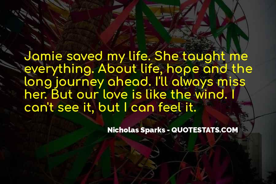 Miss Our Love Quotes #1000764