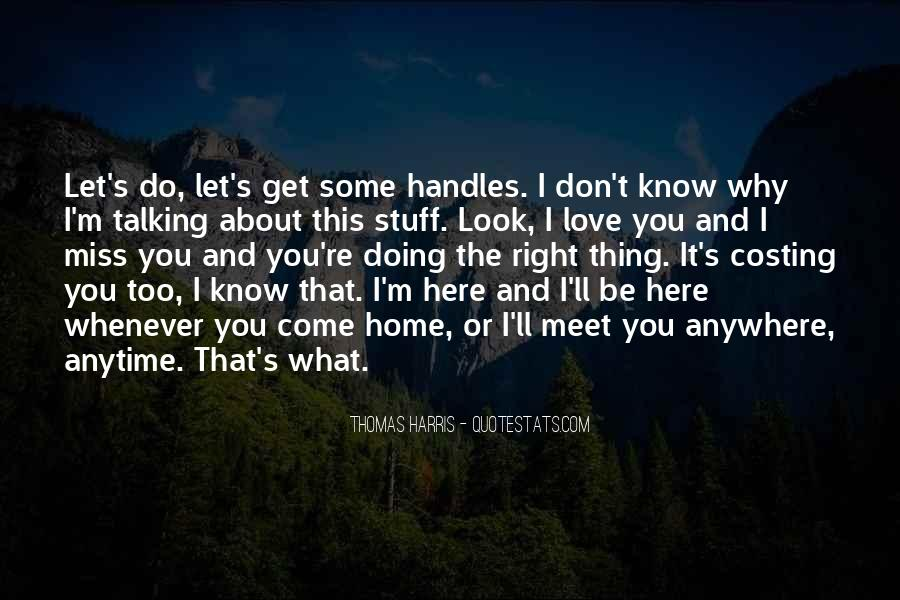 Miss You More Quotes #11969
