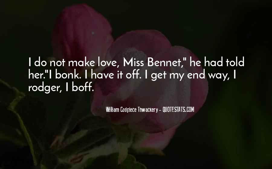 Miss You More Quotes #24851