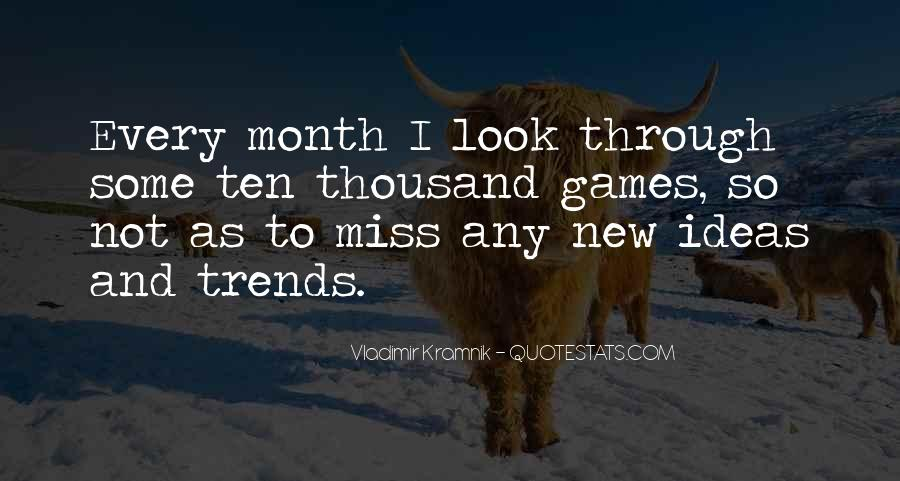 Miss You More Quotes #38107