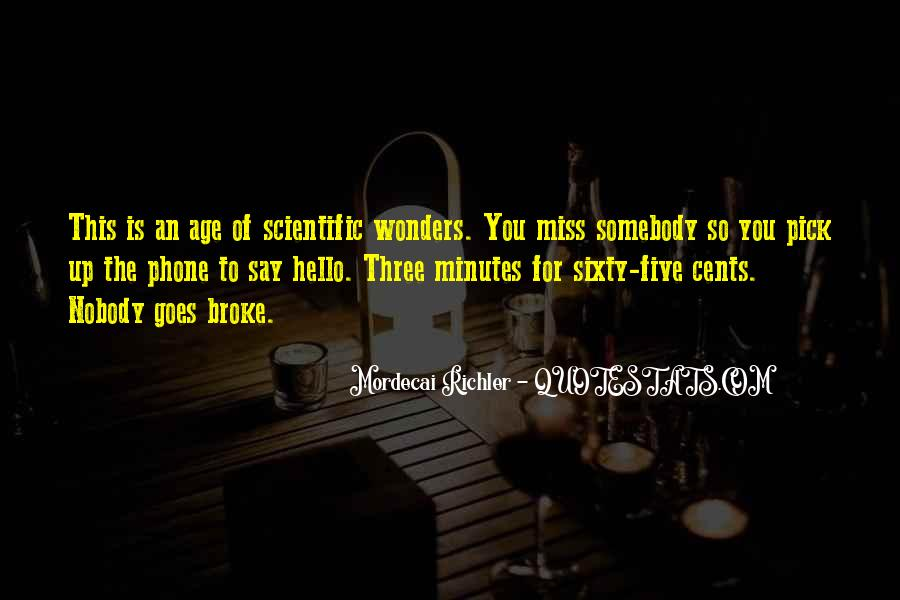 Miss You More Quotes #38304