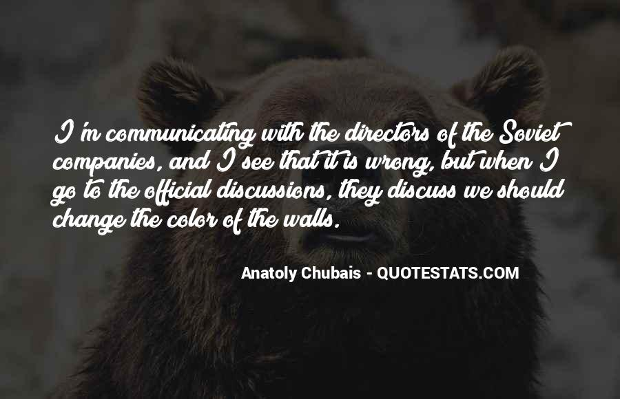 Quotes About Communicating Change #1625523