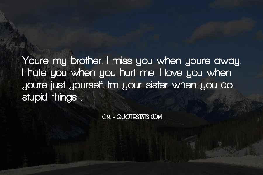 Miss You Sister Quotes #573183