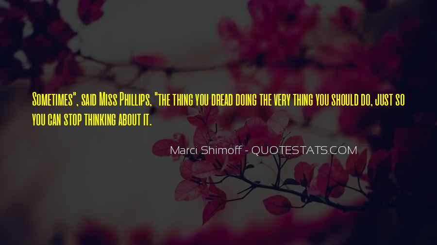 Miss You Thinking You Quotes #1461993
