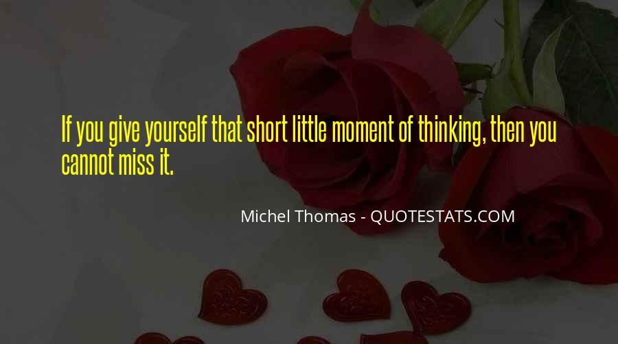 Miss You Thinking You Quotes #47131