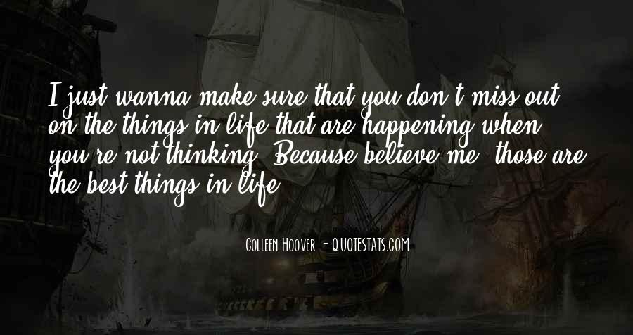 Miss You Thinking You Quotes #85440