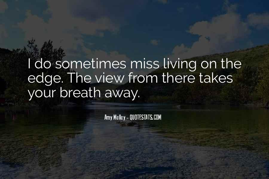 Miss You When You're Away Quotes #35414