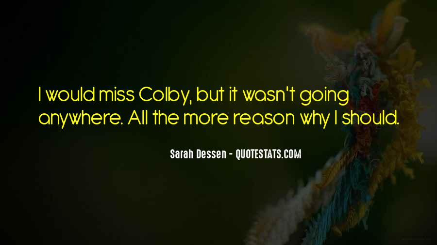 Miss You When You're Away Quotes #743831