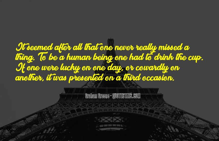 Missed Occasion Quotes #1593256